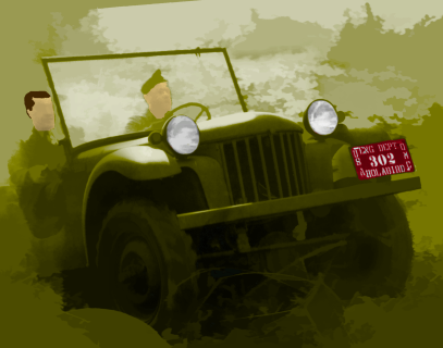 The first jeep and it's by Bantam!