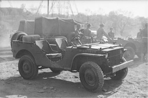 New 1/4-ton 'Bantam' truck at Fort Myer, Virginia,