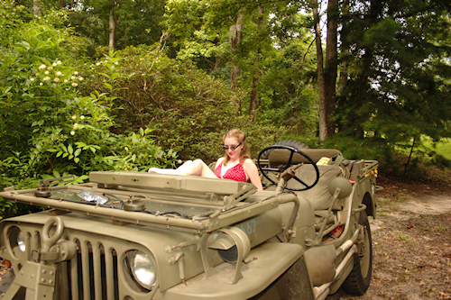 You really need to know how to operate the WW2 jeep transmission.
