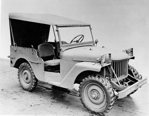 The Willys Quad photo attributed to Chrysler LLC.