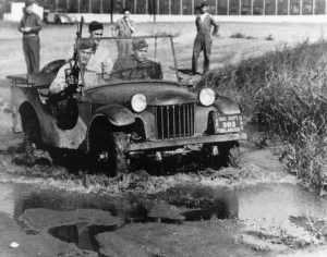 "American Bantam Car Co. was the first to deliver what would become known as the ""jeep""."
