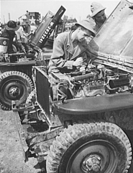 Are you working on your jeep?  How about the carburetor?  Is it time you over hauled it?