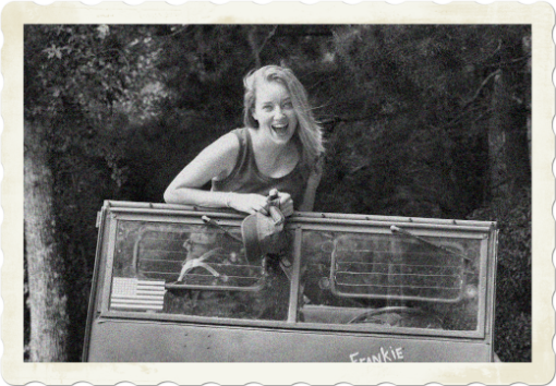 """Army Jill says, """" I just love getting and giving WW2 jeep gifts. Don't you?"""""""