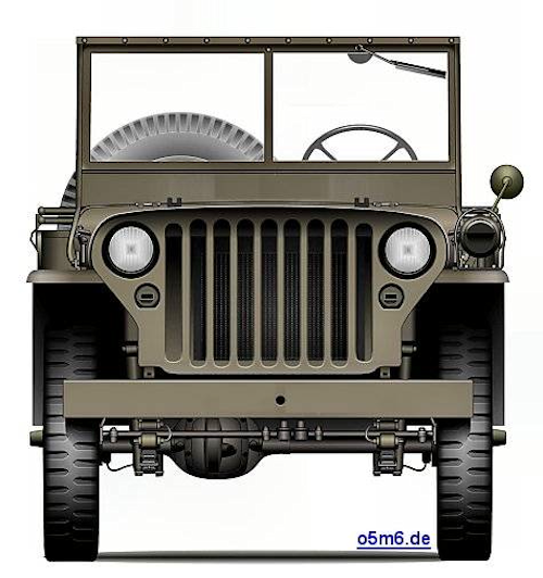 Willys MB Standardized Grille